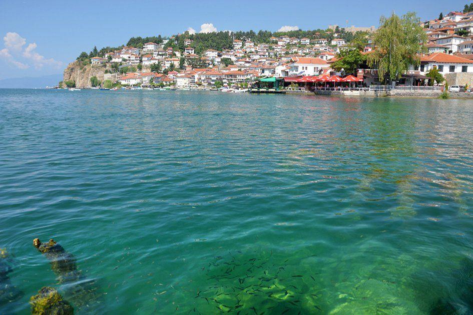 фото озера охрид в македонии прошлого своей предшественницы