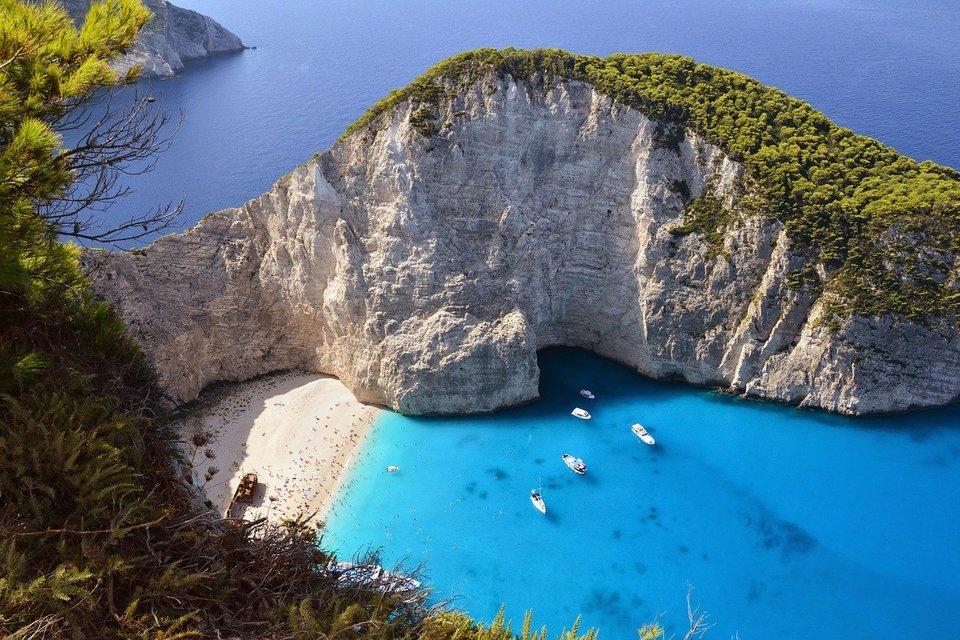 Греческий пляж