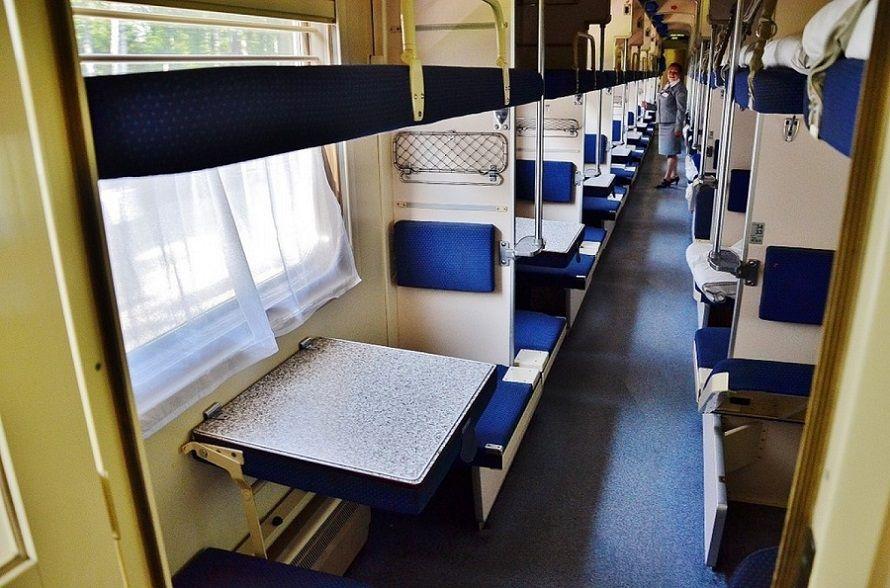 поезд плацкарт фото места категория работы