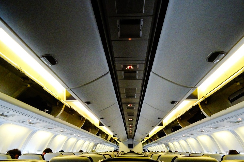 Салон самолете